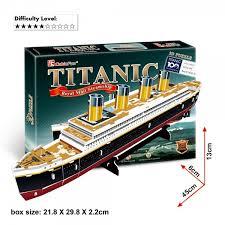 3D puzzle: Titanic 3D puzzle jármű makettek